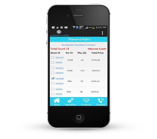 Order Management Mobile Application India